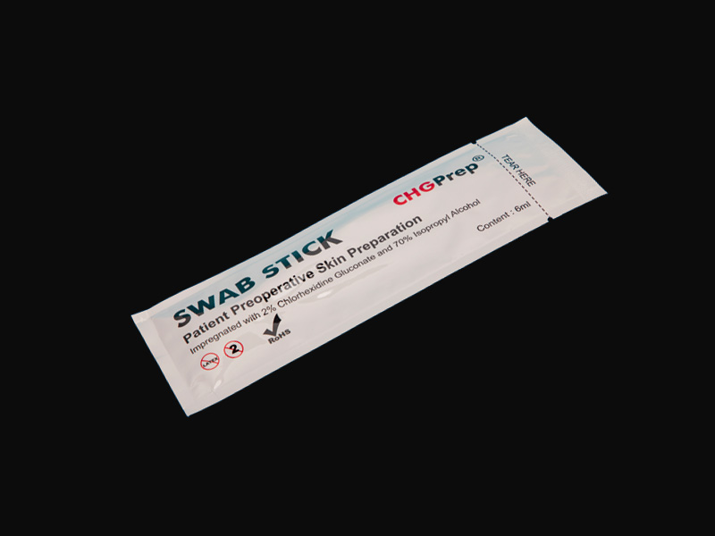 MSS-708 CHG Disinfectant swab with Circular head